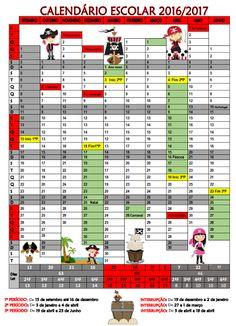 Cantinho do Primeiro Ciclo: Calendário Escolar 2016/2017 …