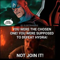 Pretty much how most of us feel right now Meme by me #saynotohydracap by elektradeus