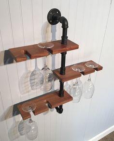 Sostenedor de cristal de vino Industrial moderna