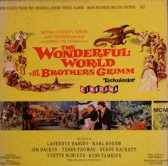 The Wonderful World Of The Brothers Grimm 1962  LP by DorenesXXOO