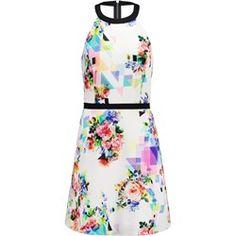 NAF NAF Sukienka letnia imprime
