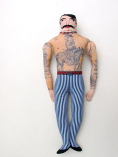 Handsome Tattoo Man. $275.00, via Etsy.