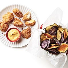 Chicken Nuggets and Chips:  Healthier Chicken Nuggets and Homemade Chips | CookingLight.com