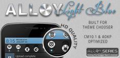 Alloy Light Blue Theme CM10.1 1.4.1   Telubungsu