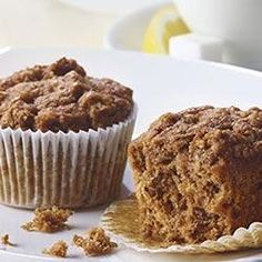 Start your day off right with a filling muffin. Add moisture and flavor to your bran muffins with Mott's Cinnamon Applesauce. Apple Bran Muffin Recipe, Muffin Recipes, Apple Recipes, Baking Recipes, Cake Recipes, Breakfast Recipes, Dessert Recipes, Breakfast Ideas, Applesauce Recipes