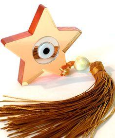 Evil eye home decor, evil eye Plexiglas, star ornament, star evil eye good luck charm, evil eye charm, Greek evil eye home decoration, gouri by OulalaShop on Etsy