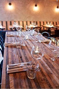 Croft House - LA - Commercial Communal Tables