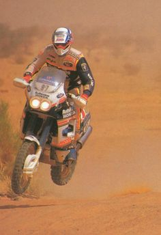 Marc Morales, Honda NXR 780, Dakar 1989