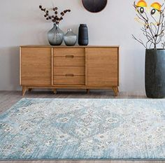 Our #4620 Oriental #Blue rug selection of elegant, exquisite, beautifully modern rugs to add the perfect finishing touch to your living room, dining room, bedroom...