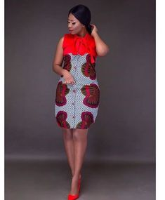 Online Hub For Fashion Beauty And Health: Simply Stylish And Lovely Ankara Short Gown Style . Short African Dresses, Ankara Short Gown Styles, Kente Styles, Dresses Short, Latest African Fashion Dresses, African Print Dresses, African Print Fashion, Africa Fashion, African Prints