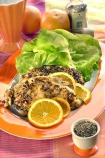 POMERANČOVÝ PEPŘ Pomerančový pepř je aromatická ostřejší směs koření výborná na přírodní plátky z kuřecího a krůtího masa a na grilování a pečení ryb....