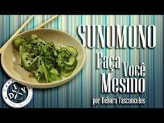 COMO FAZER SUNOMONO - FAMÍLIA DIY - COMIDA JAPONESA - YouTube                                                                                                                                                                                 Mais