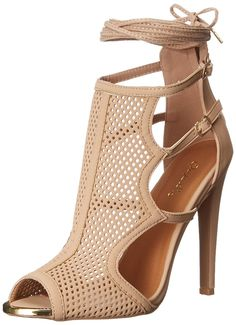 Qupid Women's Interest 125X Dress Sandal * See this great image  : Lace up sandals
