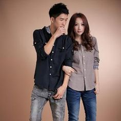 Buy 'Gurun Vani – Couple Hooded Long-Sleeve Shirt' with Free International Shipping at YesStyle.com. Browse and shop for thousands of Asian fashion items from China and more!