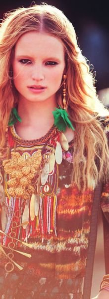 .love the gypsy look
