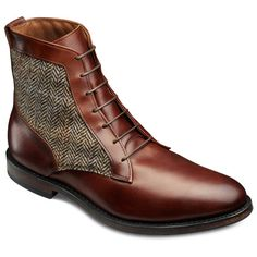 Want to increase your height? Allen Edmonds Shaker Heights Boots 8724 are the best ones for that. If u use height pads inside, ur foot will not slide out when ull walk. Look for similar designs in your local stores if you want to use height insoles. Sock Shoes, Men's Shoes, Shoe Boots, Dress Shoes, Leather Men, Leather Shoes, Height Insoles, Formal Shoes For Men, Allen Edmonds