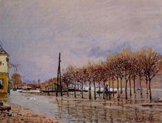 Le Bois des Roches Veneux Nadon - Alfred Sisley - WikiPaintings.org