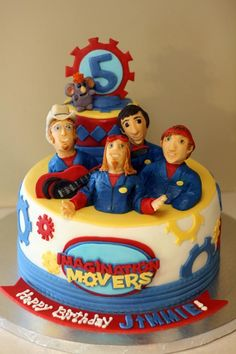 Icing Smiles Imagination Movers cake