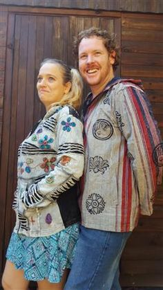 Our ever popular ladies razor cut hoodie and our mens sharma jacket. #sharmajacket #sharma #hoodies #himalayanjackets #hippiefashion #hippieclothing #himalayanclothing