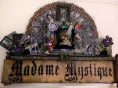 Madame Mystique wall art by Anne-Marie Martin