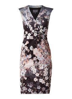 Phase Eight Kyoto jurk met bloemenprint • de Bijenkorf