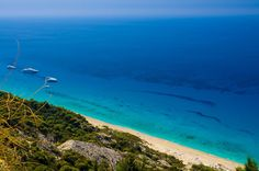 Lefkada island,Gialos beach