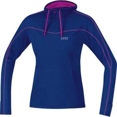 Wiggle Nederland | Gore Running Wear Ladies Essential Hooded Shirt hardloopshirts met lange mouwen