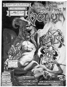 GigPosters.com - Venom - Slayer - Dark Angel