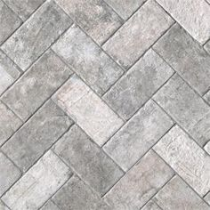 Shades Of Grey Brick Effect Porcelain Wall And Floor Tiles