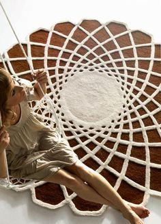 Alfombra Caleido de GAN.  Diseño: Odosdesign.  Muebles de diseño.