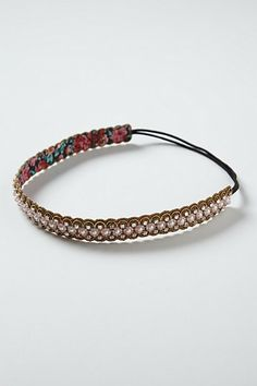 Ghita Headband at Athropologie. A little pricey but really cute.