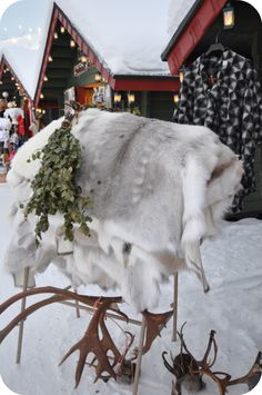 Christmas markets in Levi, Finland