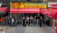 Carnegie Deli NYC - you gotta have the cheesecake!..