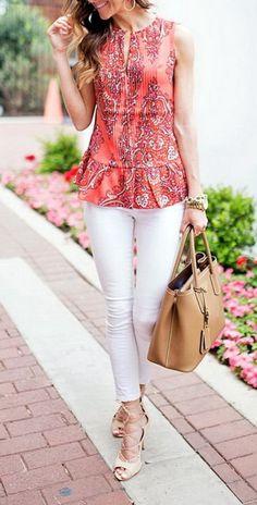how to style white skinny jeans outfits White Skinnies, White Skinny Jeans, Jean Outfits, Casual Outfits, Nice Outfits, Jeans Outfit Summer, Outfit Jeans, Curvy Women Fashion, Work Fashion