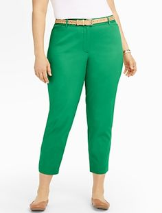 Talbots - The Perfect Crop | Pants | Woman Petites