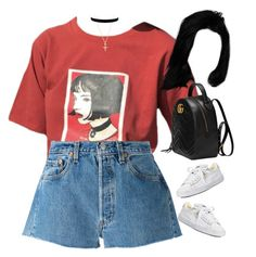 04.09.17 by jamilah-rochon on Polyvore featuring polyvore fashion style Levi's Puma Gucci clothing