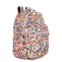 Kipling Women's Seoul Large Vintage Laptop Backpack -- Continue to the product at the image link. (This is an affiliate link) Laptop Backpack, Travel Backpack, Seoul, Image Link, Backpacks, Prints, Stuff To Buy, Bags, Vintage