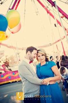 Our engagement pics at the Illinois State Fair- August 2012 Lexie & Chris
