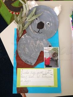 Koala craft | Top Teacher - Innovative and creative early childhood curriculum resources for your classroom