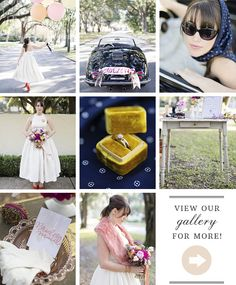 1950s bridal and wedding inspiration | Photo by Christina Karst Photography | Read more - http://www.100layercake.com/blog/?p=85496