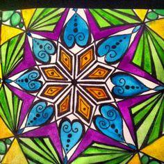 JJ Creations - My Brain on Paper, Mandalas, Found Paper Books, Watercolour