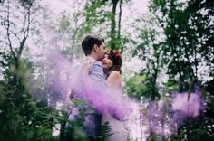 Smoke bombs day after session - The Quirky, Beatrice de Guigne, photographer