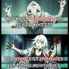 Suzuya~Tokyo Ghoul~ ;-; Suzuya, don't make me cry please