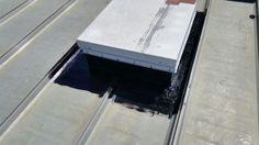 Article: Liquid Rubber Coating Ponoka To Industrial Metal Roof. Below you will find the process of installing a liquid rubber coating. Industrial Metal, Roof Repair, Metal Roof, Calgary, Detail