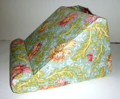 Padded Book or Ipad Rest For Your Lap.. Hands Free Reading ...Soft ...