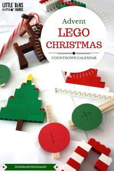 25 Days of LEGO Advent Calendar Christmas Building Ideas