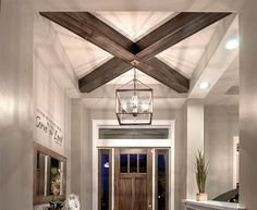 Adding Wood Beams to Your Home on a Budget – Mobile Home Repair - Modern Home Remodeling Diy, Remodeling Mobile Homes, Home Renovation, Mobile Home Repair, Mobile Home Makeovers, Single Wide Mobile Homes, Manufactured Home Remodel, Mobile Home Decorating, Apartments Decorating