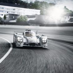 PORSCHE LMP1 Go Webber go!
