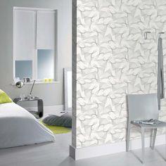 Collection : B&W Vibrate #papierpeint  #decoration #interieur #noir #blanc #blackandwhite #noiretblanc #Caselio  http://www.caselio.fr