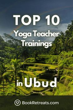 Top 10 Yoga Teacher Trainings Ubud Style In 2021 [#7 Is From The Gods] Yoga Sequence For Beginners, Workout For Beginners, Spiritual Inspiration, Yoga Inspiration, Yoga Retreats Europe, Mindful Yoga, Globe Travel, Yoga Workouts, Free Yoga